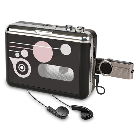 Rybozen Portable Cassette Player Recorders, Standalone Digital Audio Music Recorder Tape to MP3 Converter/Player Save into USB Flash Drive/No PC - Recorder Express Cd