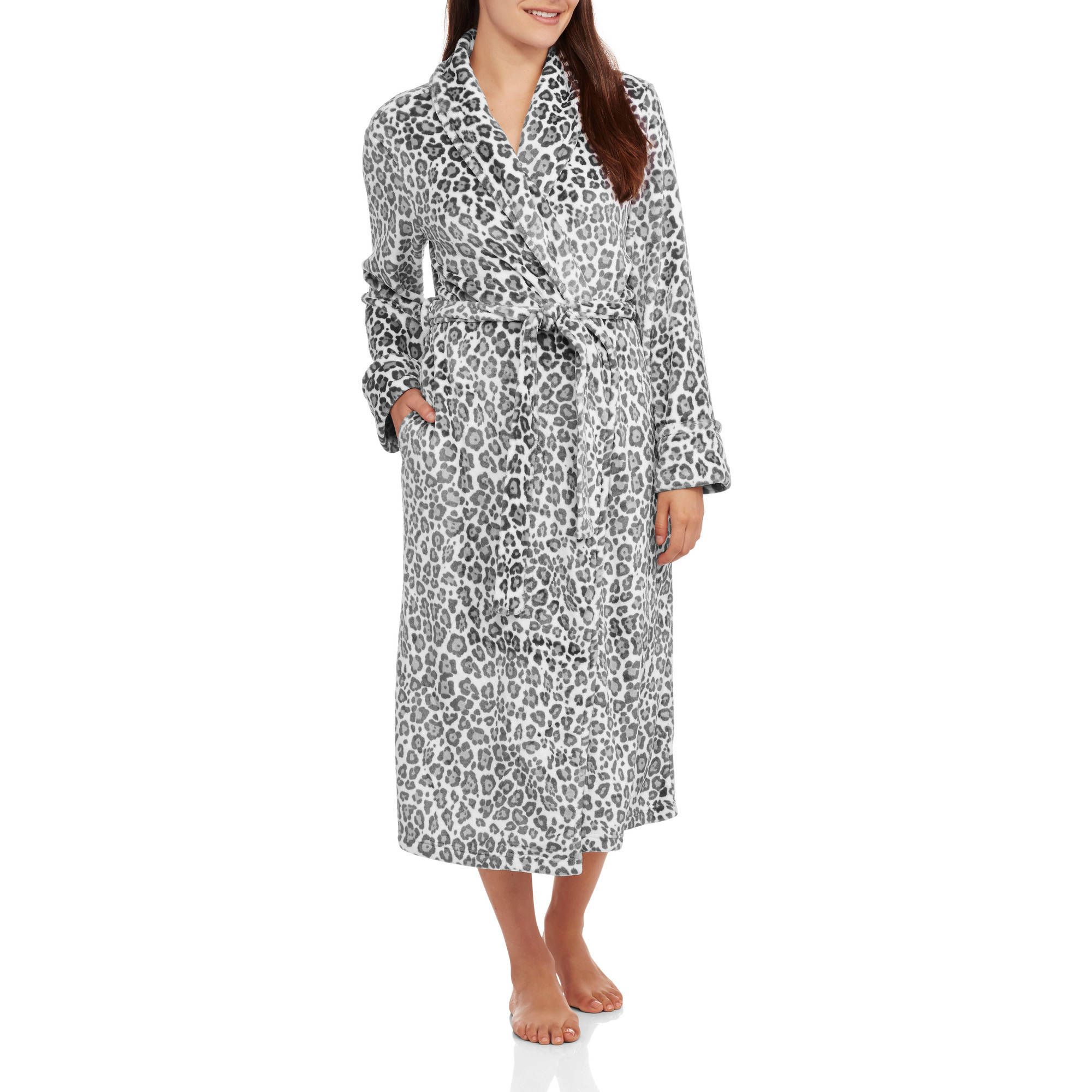 Secret Treasures Women's Super Minky Plush Sleep Robe