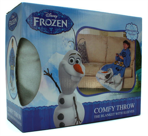 "Disney Frozen Olaf Comfy Throw with Sleeves, 48"" x 48"""