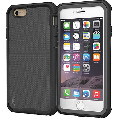 rooCASE VersaTough Heavy Duty PC TPU Armor Case for Apple iPhone 6/6s Plus
