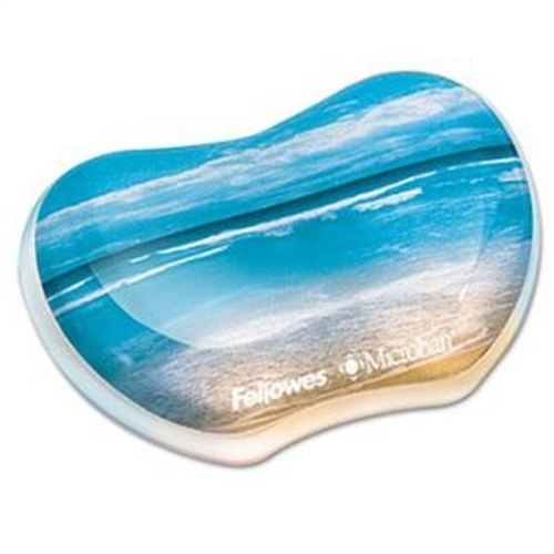 Fellowes Photo Gel Wrist Rest Microban Protection 9179501