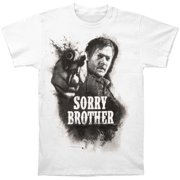 Walking Dead Men's  Sorry Brother T-shirt White