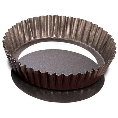 Extra Deep Tart Mold 8 inch - Non-Stick, Extra Deep Tart Mold 8 Diameter• Non-sticktinned steel By JB Prince Extra Deep Tart