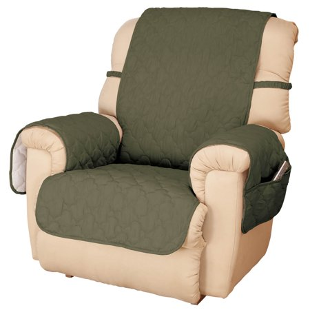 Deluxe Microfiber Recliner Cover by (Fleece Recliner Cover)