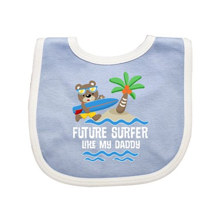 Surfing Future Surfer Like Daddy Baby -