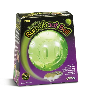 CENTRAL - SUPER PET/PETs INTL RUN ABOUT BALL MINI MOON GLOW