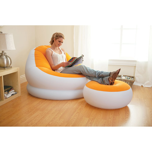 Intex Inflatable Cafe Chaise Chair, Multiple Colors
