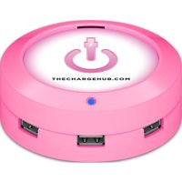ChargeHub X3 3-Port USB SuperCharger, Round, Multiple Colors Available