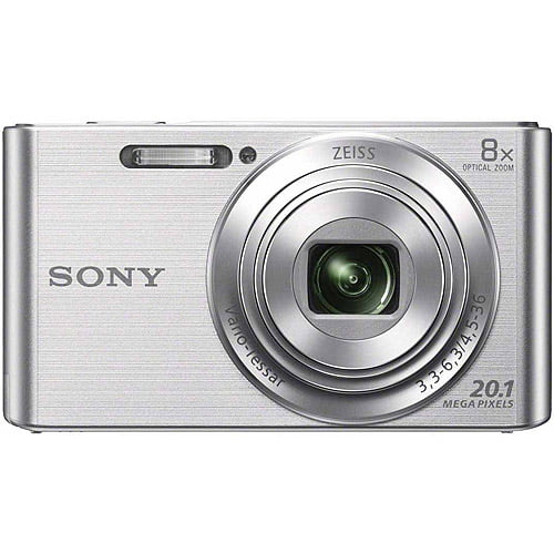 Buy Sony DSC-W830 Digital Camera with 20.1 Megapixels and 8x Optical Zoom (Available in Black or... by Sony