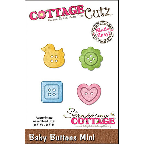 "CottageCutz Mini Die, 1-3/4"" x 1-3/4"""
