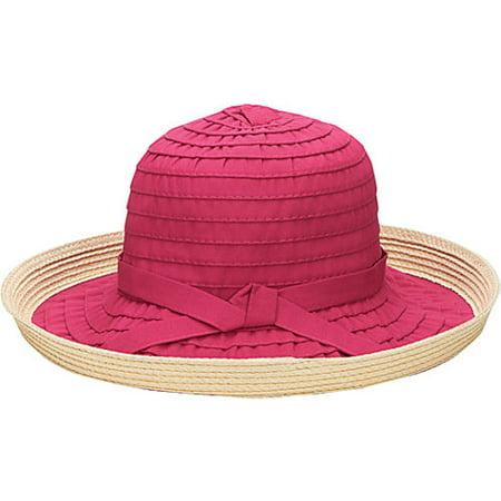 e1e41858efb Ribbon Kettle Brim Hat - Walmart.com