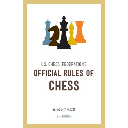 United States Chess Federation's Official Rules of Chess, Sixth (Rare Chess Book)