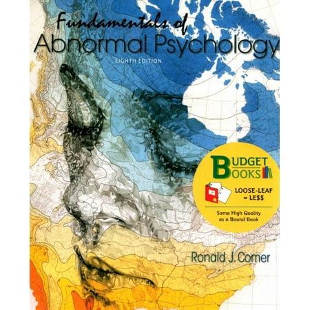 Loose-Leaf Version for Fundamentals of Abnormal Psychology 8e & Launchpad for Fundamentals of Abnormal Psychology 8e (6 Month (Fundamentals Of Abnormal Psychology Ronald J Comer)