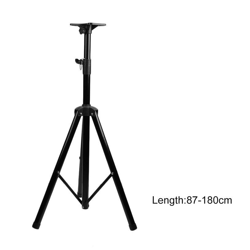 Universal Folding Black Heavy Duty Tripod Pole-Mount DJ PA Speaker Audio Holder Stand... by