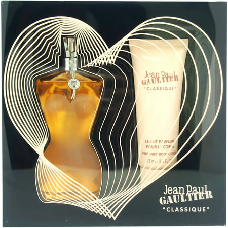 Jean Paul Gaultier Classique for Women Fragrance Gift Set, 2
