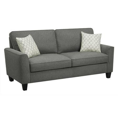 Serta Astoria 73   Sofa In Dark Gray