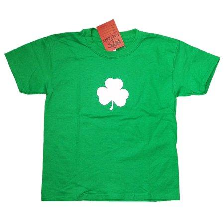 Shamrock Youth T-Shirt Tee Kids 100% Cotton Irish Green (s)](Shamrock Lights)