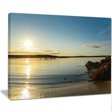 Design Art Carters Beach Nova Scotia Canada Photographic Print On Wrapped Canvas