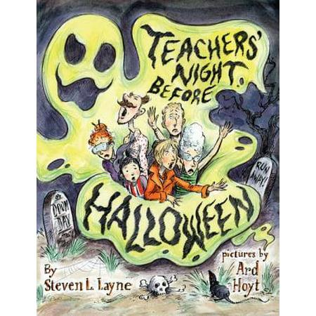 Halloween Teacher Ecard (Teacher's Night Before)