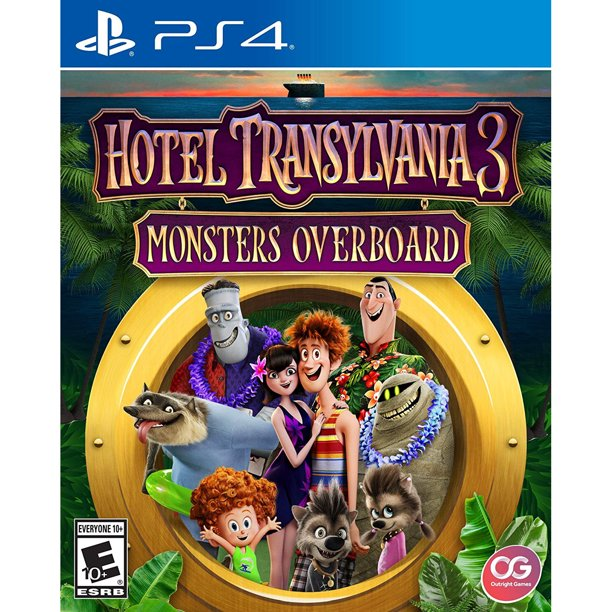 Hotel Transylvania 3 Monsters Overboard Outright Games