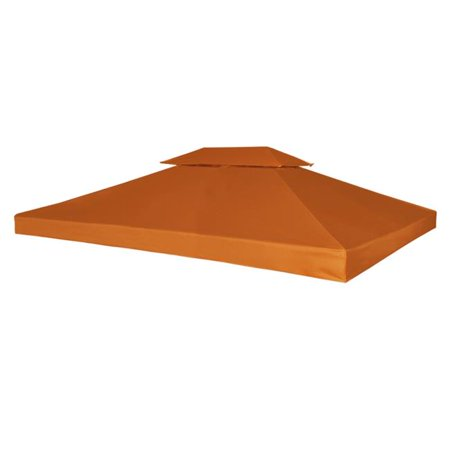 Online Gym Shop CB18575 Outdoor Waterproof Gazebo Cover Canopy, Terracotta - 10 x 13 ft.