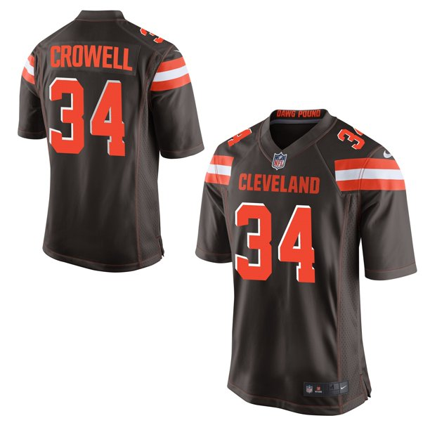 Isaiah Crowell Cleveland Browns Nike Game Jersey - Brown - Walmart ...