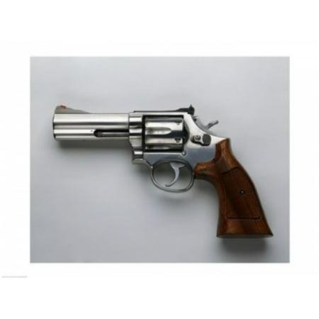 Smith & Wesson 357-Caliber Revolver Canvas Art -  (24 x 18)