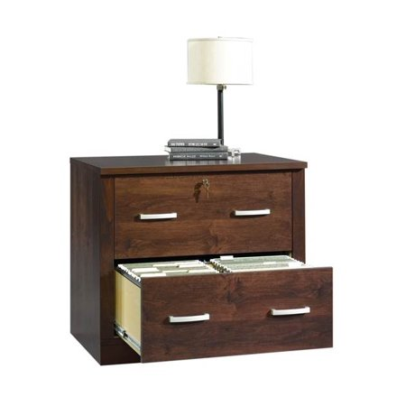 Office Port File Cabinet in Dark Alder Finish (Dark Alder Finish)