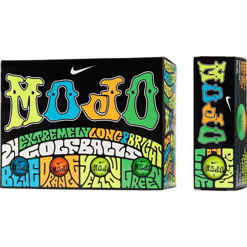 Nike Mojo Lucky #7 Colored Golf Balls, 24pk