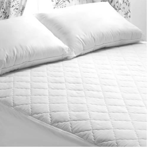 Mattress Pad and Jumbo Pillows Set, Twin