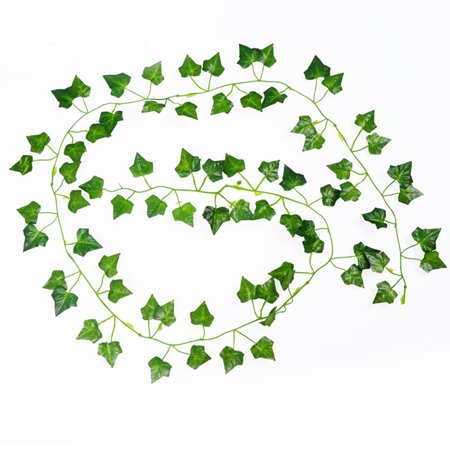 Begonia Leaves - Holiday Clearance 2Pack 2m Creeper Begonia Artificial Ivy Leaf Vine Fake Plants Home Wedding Decor