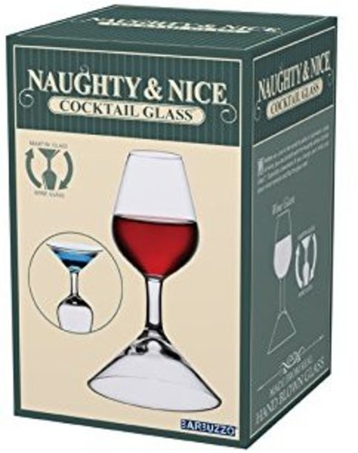 Barbuzzo Naughty & Nice Cocktail Glass by BARBUZZO