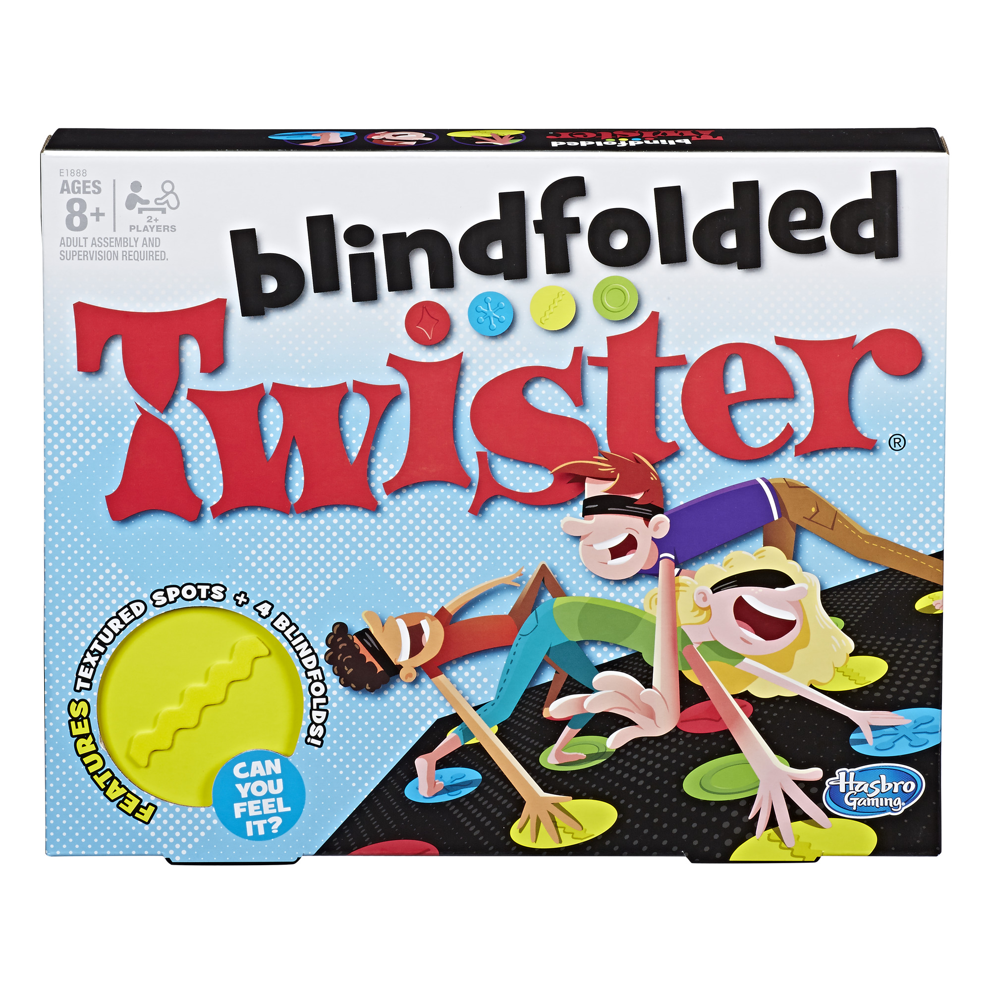 Blindfolded Twister Game, Games for kids Ages 8 and up