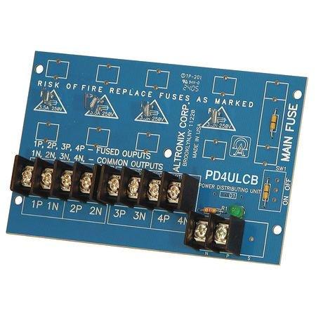 ALTRONIX PD4ULCB Power Dist Module 4 Output PTC