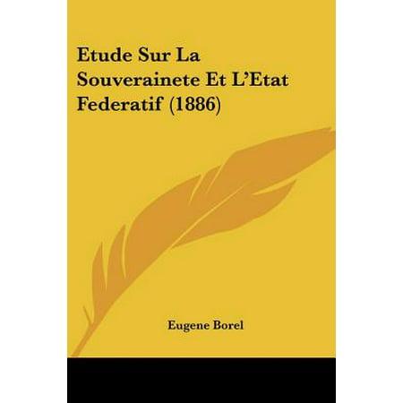 Dissertation l39etat et la souverainete