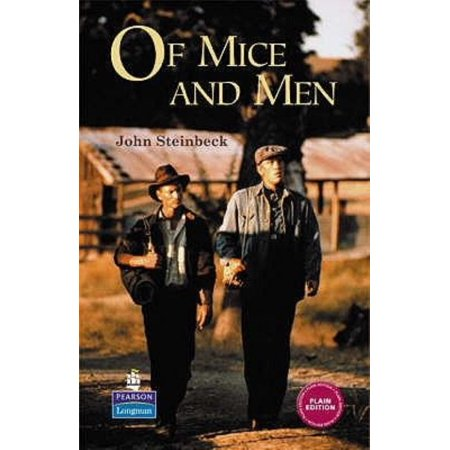 Of Mice And Men  Longman Literature Steinbeck   Hardcover