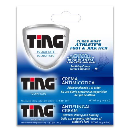 Ting Antifungal Cream 0.50 oz