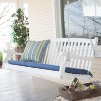 Deals on Coral Coast Pleasant Bay All-Weather Curved Back Porch Swing