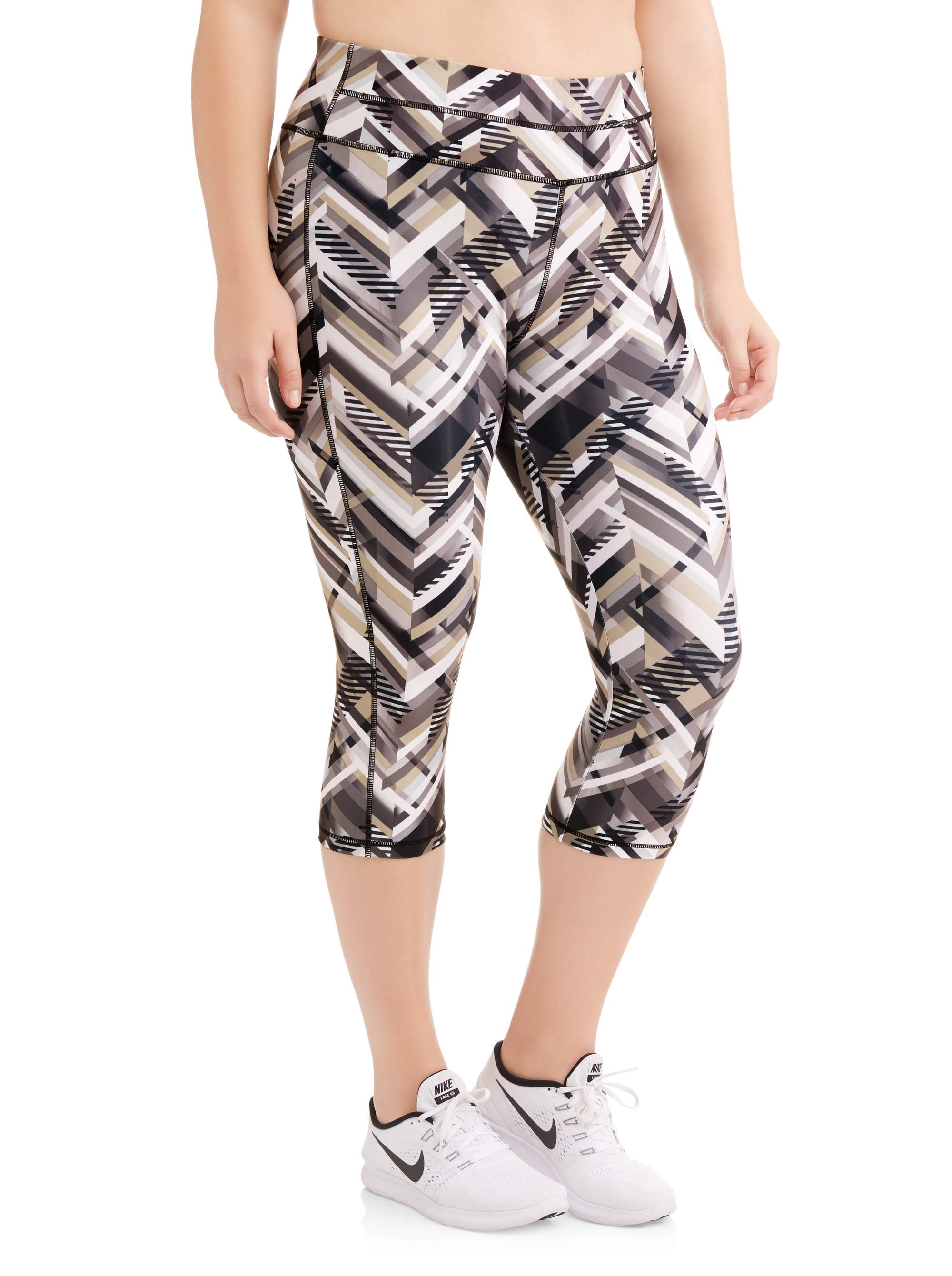 Women's Plus Size Active Ultimate Performance Capri