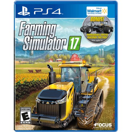Walmart Exclusive  Farming Simulator 17  Ps4