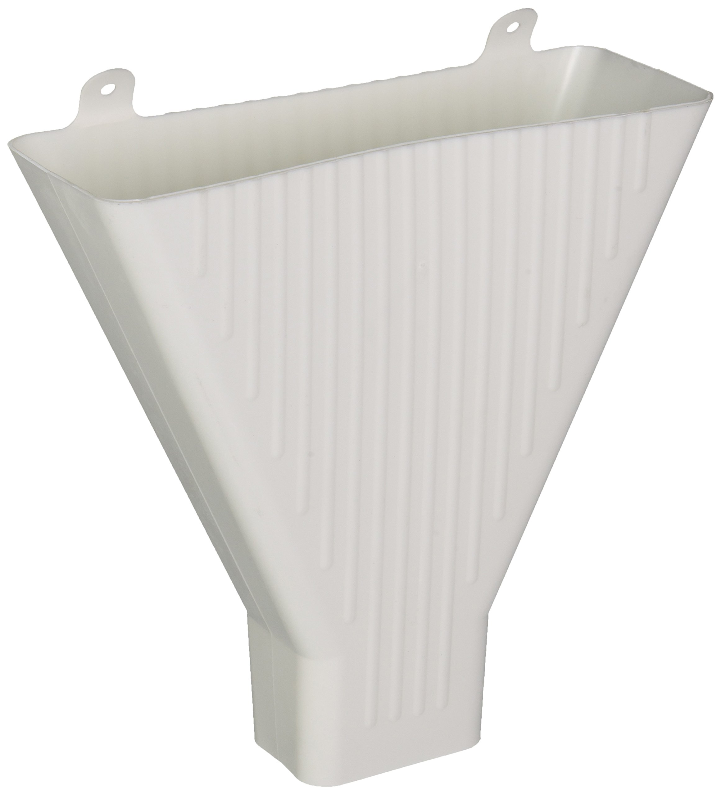 Amerimax Home Products 85208 Funnel For 2 x 3-In. Downspout, White Plastic by Amerimax Home Products