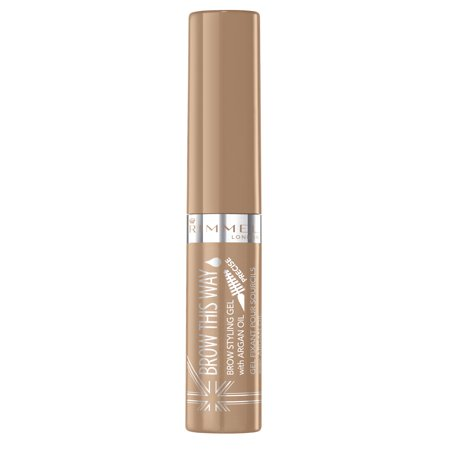 Rimmel London Brow This Way Brow Styling Gel, Blonde (Brow Finishing Gel)