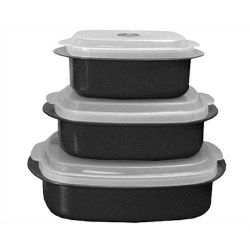 Reston Lloyd Calypso Basics 6-Piece Food Storage Container Set (Set of 2)