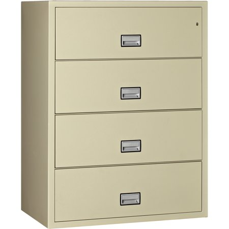 Phoenix Lateral 44 inch 4-Drawer Fireproof File Cabinet (Fireproof Lateral File Cabinet)