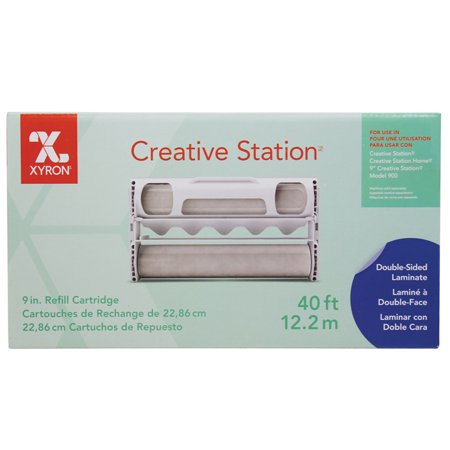 Xyron 850 Laminate - Xyron Creative Station 9in Refill Cartridge 40ft