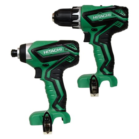 - Hitachi Power Tools WH10DFL2 12V Lithium-Ion Impact Driver & One DS10DFL2 12V Lithium-Ion Drill Driver