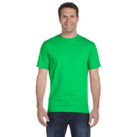 Gildan G800 DryBlend T-Shirt -Electric Green-Large