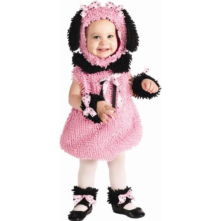 Precious Pink Poodle Baby Costume - Poodle Costume Toddler