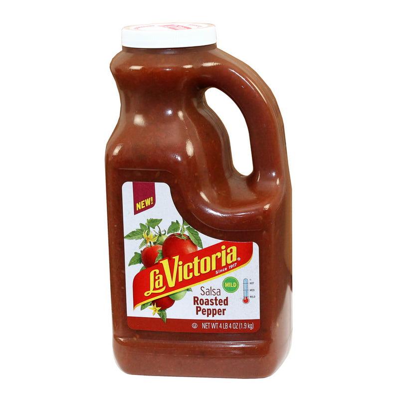 (Price/case)La Victoria 72112 6/68Oz Roasted Pepper Salsa Mild