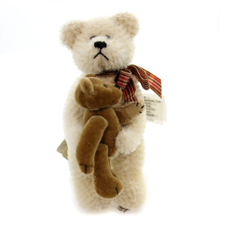 Mohair Bear with Teddy, Name Tyler By Boyds From